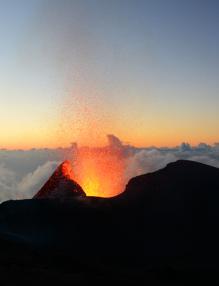 Volcan la Fournaise
