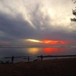 Coucher de Soleil Sunset Plage Reunion