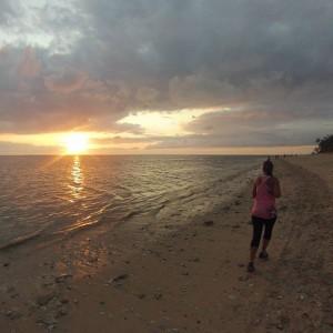 Footing sur la plage By @pimkevin