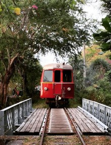 Petit train du Lazaret à La Grande Chaloupe  By @babsy974