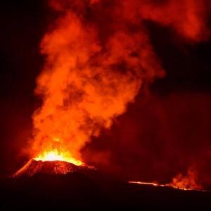 Eruption Piton de la Fournaise