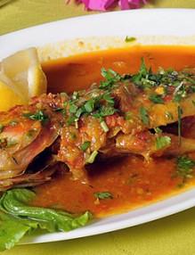 Carry poisson rouge @resto reflets des iles