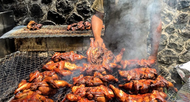 Recette familiale du poulet grillé à la créole.