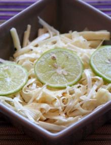Salade de palmiste par karibo sakafo