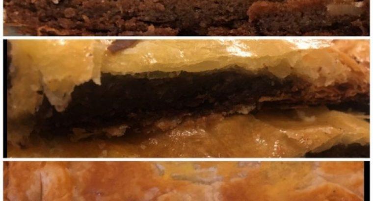Recette filmée de la Galette des rois à la patate douce et au chocolat