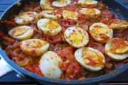 Recette : carry d'œufs