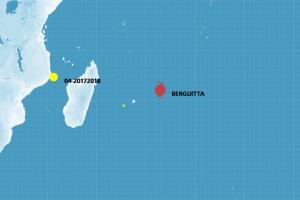 Cyclone Berguitta : le point météo à La Réunion