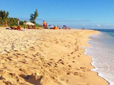 Un dimanche à la plage des Brisants