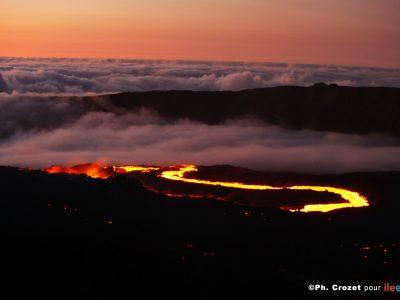 Randonnée Volcan La Fournaise : Piton de Bert