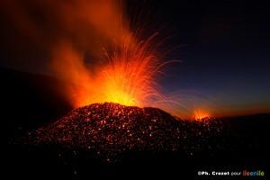 Volcan du Piton de la Fournaise Ph. P. Crozet
