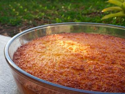 Recette : gâteau manioc
