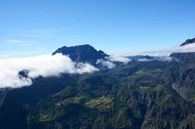 Les 5 plus hauts sommets de La Réunion