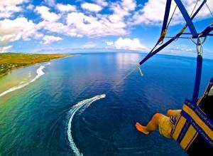 Parachute ascensionnel avec Funky Jet