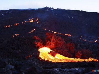 Randonnée volcan La Fournaise : le Piton Partage