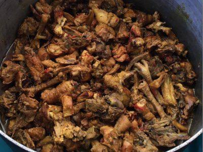 Recette : carry poulet