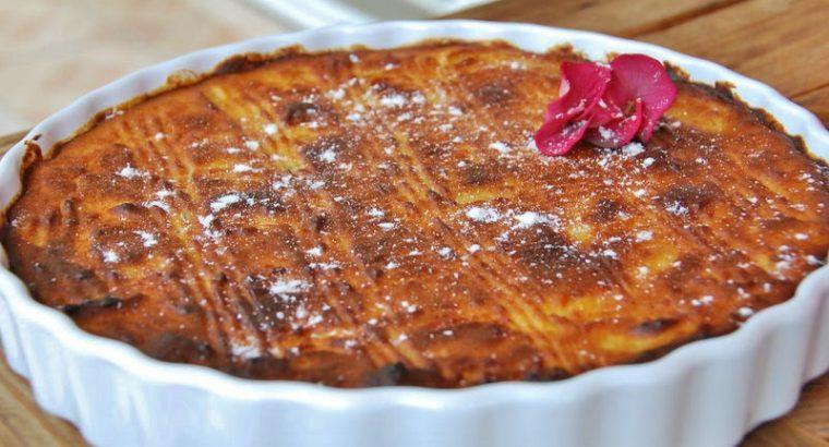 Recette : gâteau patate douce