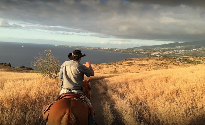 Ballade à cheval au Cap La Houssaye par Shai Ena