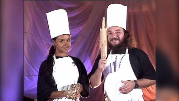 Karine et Hubert dans l'émission Z'animépar Antenne Réunion