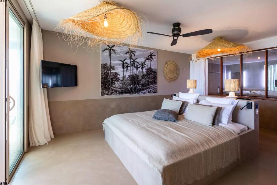 La suite océan à l'hôtel Boucan Canot