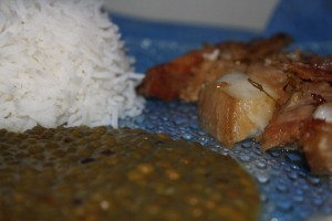 Roti de porc par @lafeecarambole